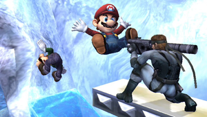Mario Sacrifices Himself by SmashBros2008