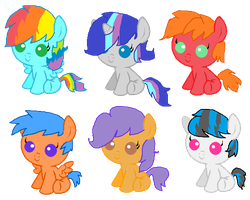 Random Shipping adopts by Lustmove-The-Hero