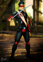 Pre - Mortal Kombat Deadly Alliance - Blind Kenshi by JhonatasBatalha