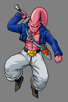 Super Buu - Future Trunks Absorbed by hsvhrt