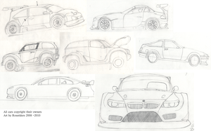 Some cars by rossriders