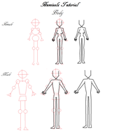 .: Humixels Tutorial - Body :. by MajesticBlueSkies