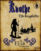 Kvothe the Kingkiller by emmgoyer7