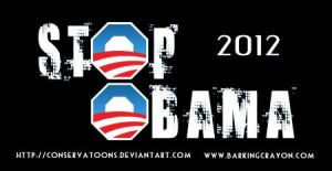 Stop Obama 2012 by RedTusker