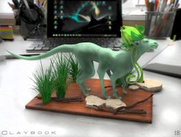 The Claybook V.01 by T-Eight