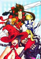 guilty gear illustration by pop-squally