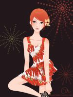 Red Pepper Girl by CQcat