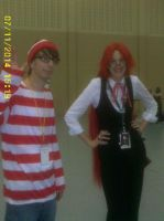 Divas of Cosplay 1- Fem Grelle Sutcliffe  w/Waldo by AnnieSmith