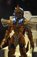 AFA 2012 - The awesome Golden armor god by CrystalViolet500