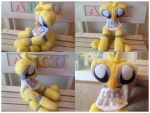 FNaF Chica Plush by SmuggleMuffin