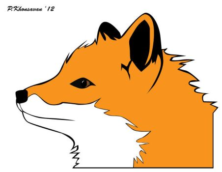 Orange Fox by sPamxD