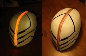 Cyberninja helmet by WobbesInc