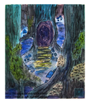 Forest (panel 2) by Disaya