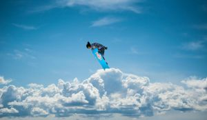 Cloud Surfing by PatrickRGT92