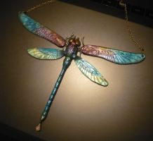Spectral Dragonfly - Necklace by Ganjamira