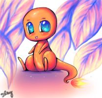 Baby Charmander by Sukesha-Ray