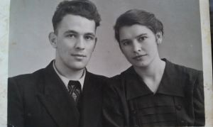 my grandparents Zina and Basil by duciyameliena