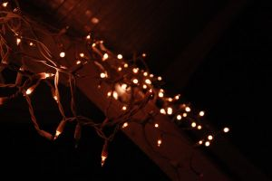 Christmas lights by bacteralis