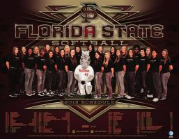 FSU Softball by Satansgoalie