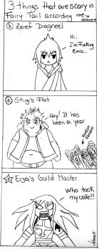 3 Things that are scare in Fairy Tail by Valeorie