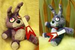 Bonnie Plush - FNAF 1 - Handmade by NiGHTmaren-Cosplay