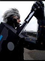 Rising Raiden Cosplay Let 'er rip! by Moin2D
