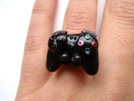 PS2/PS3 controller ring by curry-brocoli