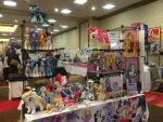 Everfree Northwest Full Table Day 1 - 5/12/17 by RubioWolf