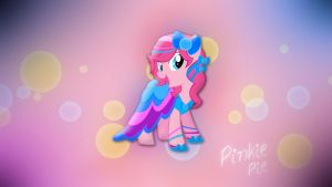 Wallpaper Pinkie Pie in gala dress by Barrfind