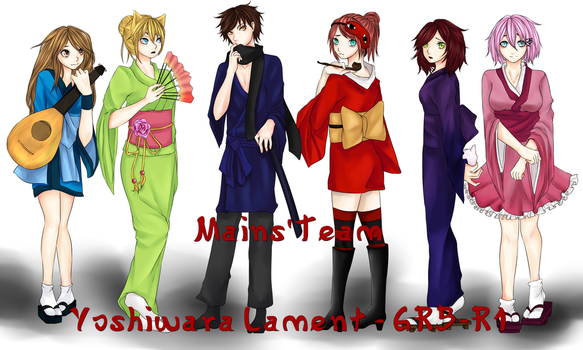 Mains'Team - Yoshiwara Lament - GRB-R1 by MllxYume