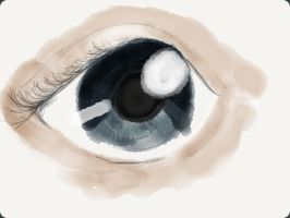 Eye practise by LilianNogueira