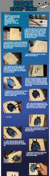 Watercolor Tutorial with Totoro - Wet-in-Wet by Laovaan