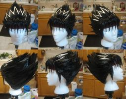 Hiei Wig Commission by xHee-Heex
