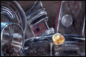 Car Parts Still Life by soulxconspiracy
