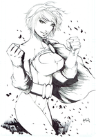 Power Girl By Hanzozuken by cerebus873