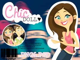 Chic Doll .PSD by Vaaalu