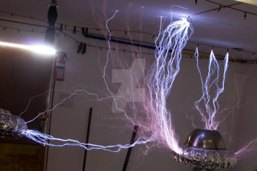 my tesla coil by darkness06660