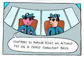 when pigs fly - color version by The-Sardonics