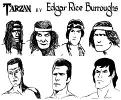 My art of Tarzan in live action and animation by StevenEly