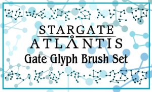 StargateAtlantis Glyph Brushes by maerad-of-pellinor