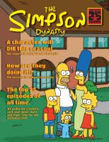 Simpsons Magazine Cover by Spider-Lantern