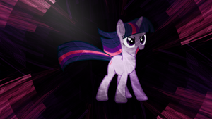 Fractal Flame Twilight Sparkle Wallpaper by uxyd
