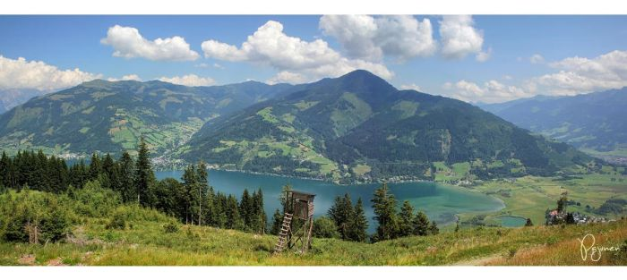 Summer in Zell Am See by Pajunen