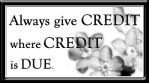 Give Credit - Free Stamp by Thy-Darkest-Hour