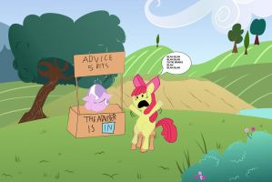Apple Bloom seeks advice by eagc7