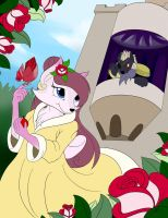 Beauty and the Beast Re-Imagined 5 by BluDraconoid