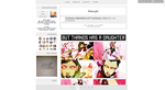 Magic ,, Tumblr Theme #26 by FireworkProdz