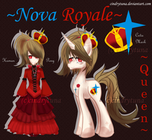 Adopts - Queen [MLP+HUMAN] [OPEN] by CindryTuna
