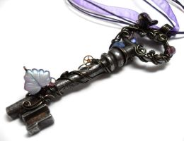 Passage Necklace no. 128 by sojourncuriosities