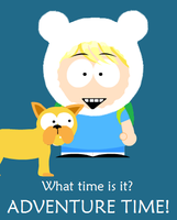 Adventure Time - South Park by killALLthezombies